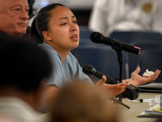 Cyntoia Brown says that she lives with the fact that