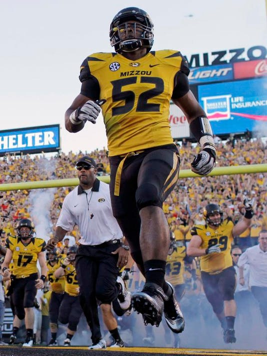 Nfl Draft Accepting Michael Sam Football