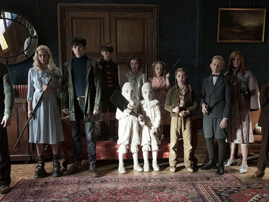 The residents of 'Miss Peregrine's Home for Peculiar