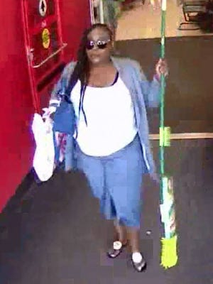 Police are looking for this woman suspected of using stolen credit cards at a Toms River Target.