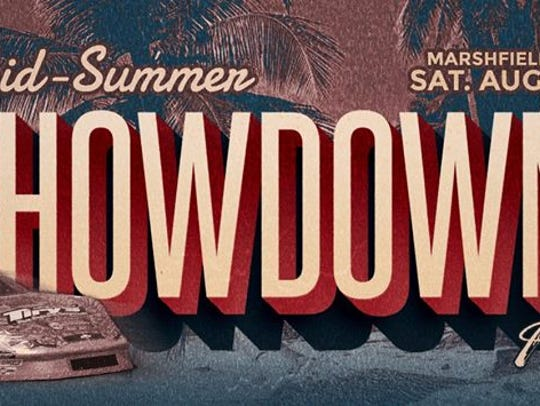 The Mid-Summer Showdown takes place at Marshfield Motor
