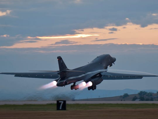 This July 24, 2012 photo provided by the U.S. Air Force