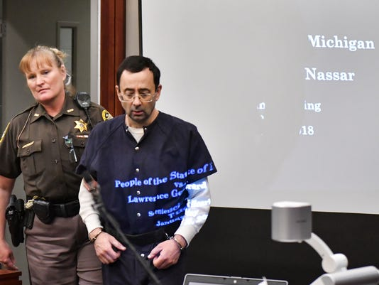 Day six - Nassar victim impact statements