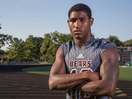 Trevon Booker, cornerback, Lawrence Central High School,