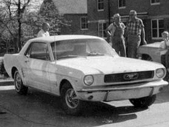 James Earl Ray arrived in Memphis in a white Mustang, seen a week after the assassination in Atlanta while he was on the run.
