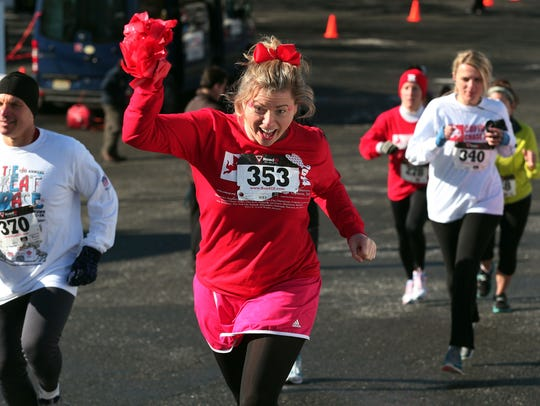 The Cupid's Chase 5K runs through various locations