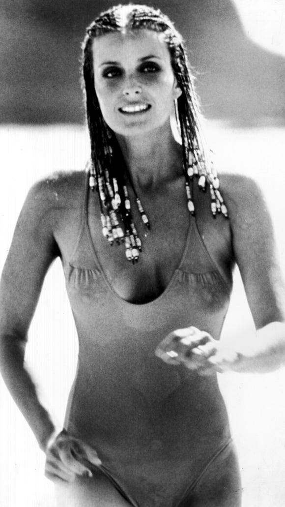 Bo Derek in that infamous scene from '10.'