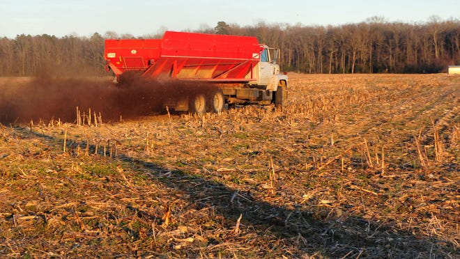 A new manure-to-energy plant in Somerset County promises to give farmers in the region a use for excess manure other than spreading it on their fields, as seen in this file photo.