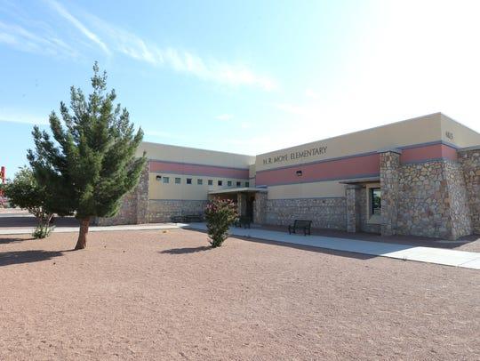 H.R. Moye Elementary School is one of the ten schools