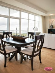 Finishes and quality are important--like this dining