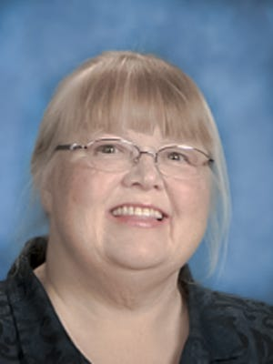 Longtime teacher Tracy Herrold was inducted into the Stayton Elementary Hall of Fame on Thursday, May 4.