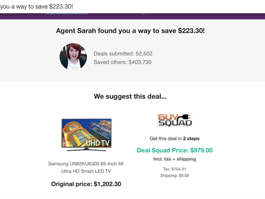 DealSquad will scour the web to find the best price