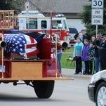Photos: Services for fallen firefighter: Steven Ackerman