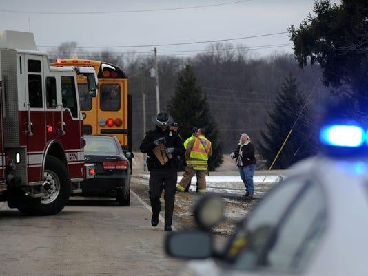 LAN Bus Crash