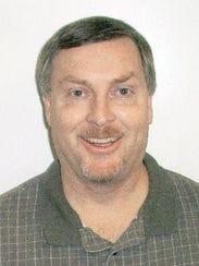 Santiam High School principal David Plotts in 2002.