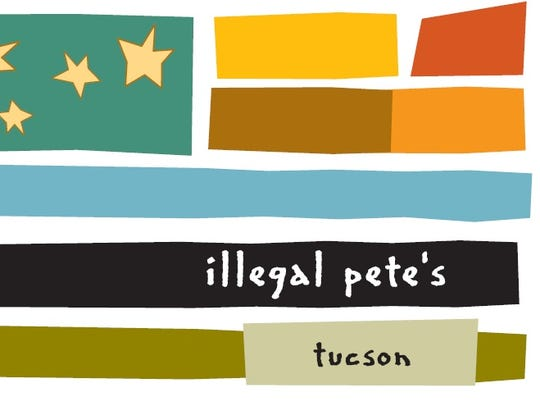 The logo for Illegal Pete's. The restaurant is scheduled