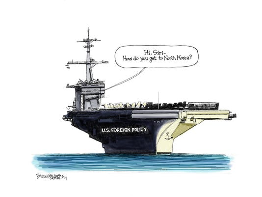 The USS Foreign Policy is lost