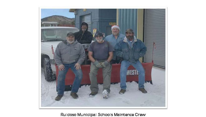 Merry Christmas for the Ruidoso School District maintenance team.