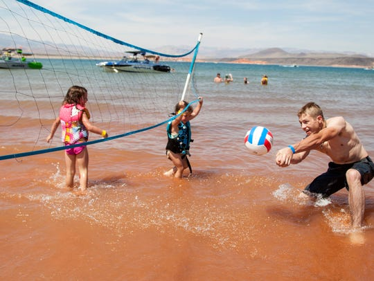 St. George residents gather for the Boardfest at Sand