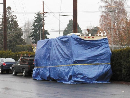 Two people died when their RV caught fire Dec. 10, 2011, in Salem RV Park on Silverton Road NE.