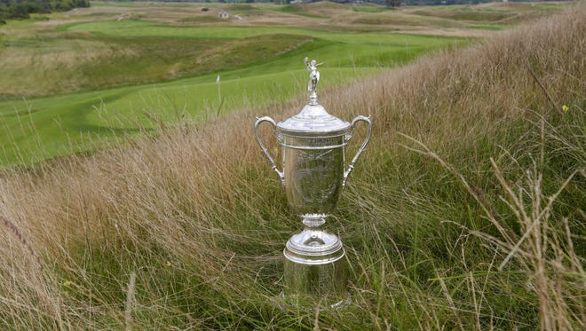 The U.S. Open trophy started a nationwide tour on April 29 in New Jersey but most of the 30-plus stops have been in Wisconsin and northern Illinois.