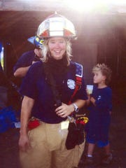 Brandy Hall, missing firefighter