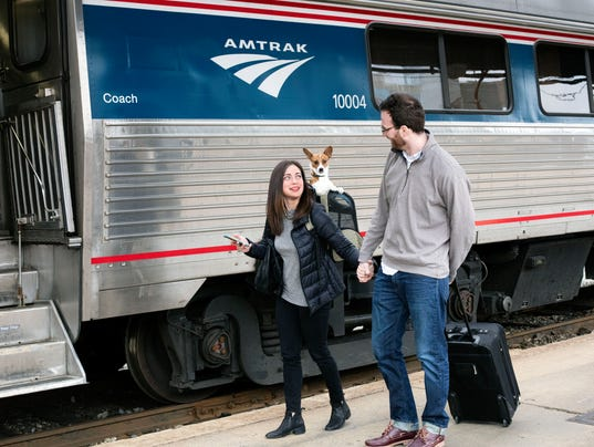 Traveling with Service Animals | Amtrak