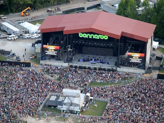 Bonnaroo is scheduled for June 8-11 in rural Tennessee.