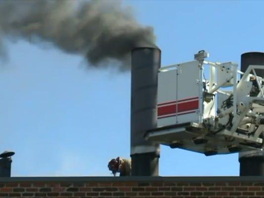 Crematorium fire