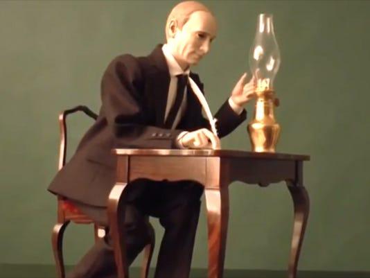 Putin figurine