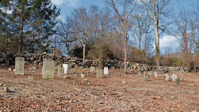 The Heady Cemetery in New Castle, N.Y. holds the graves of freed slaves and their descendants.
