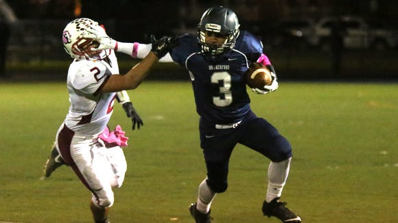 Rutherford RB Abellany Mendez scored three touchdowns