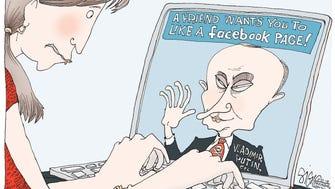 Facebook Putin