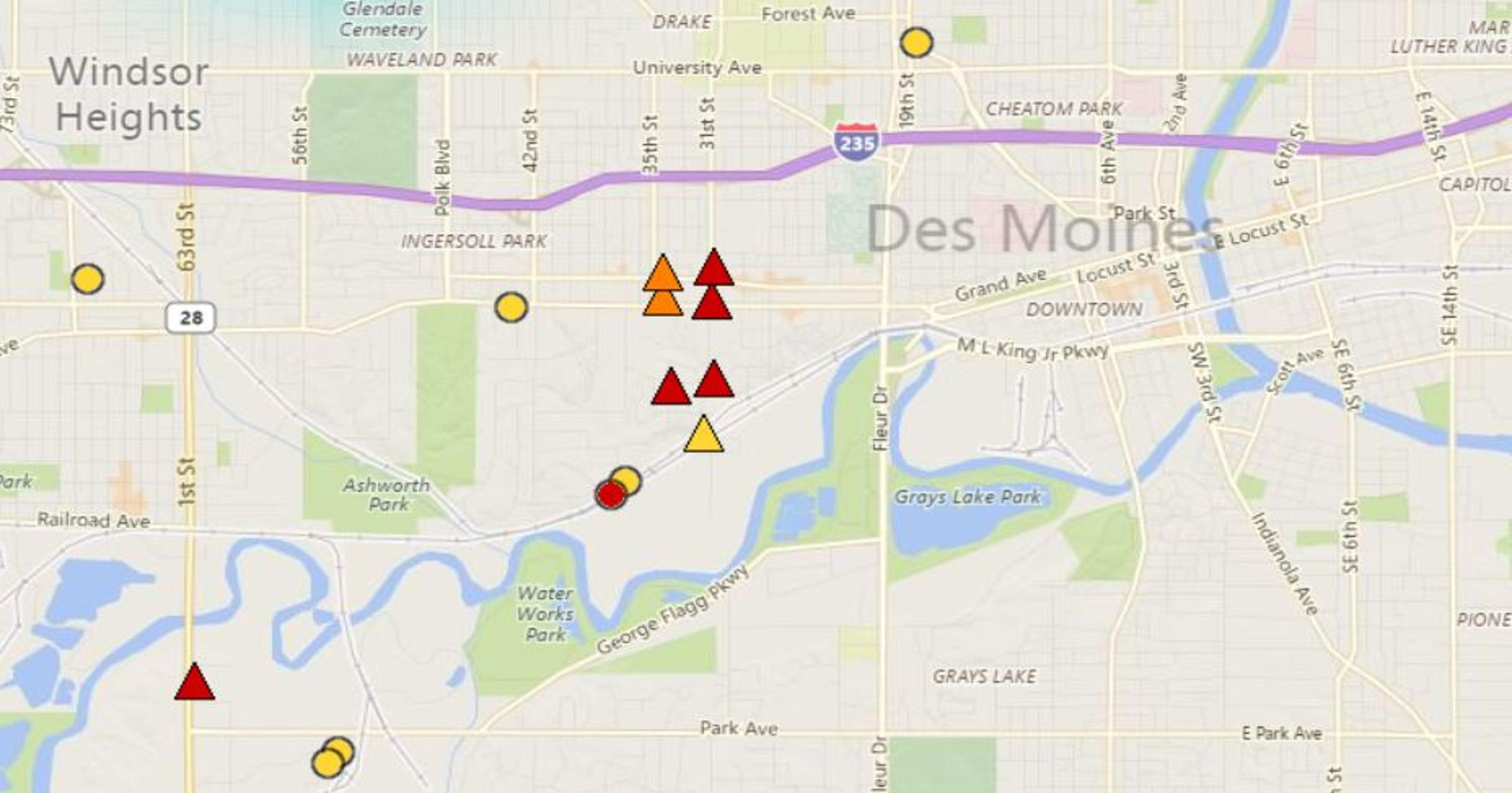Power Is Back Up In Des Moines