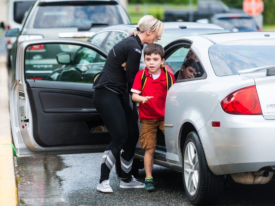 Winslow Elementary students prepare for the first day