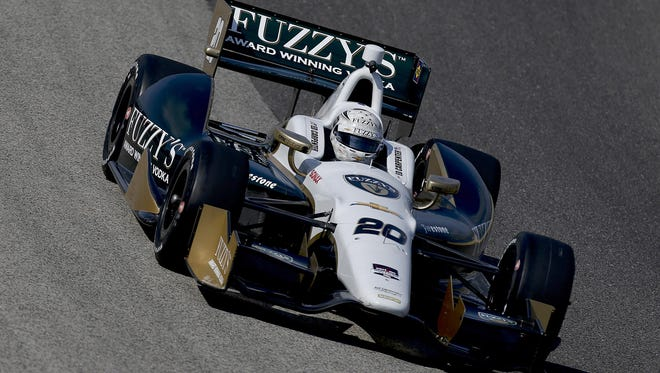 Ed Carpenter has won the pole for the past two Indianapolis 500s; he could have three teammates at next year's race.