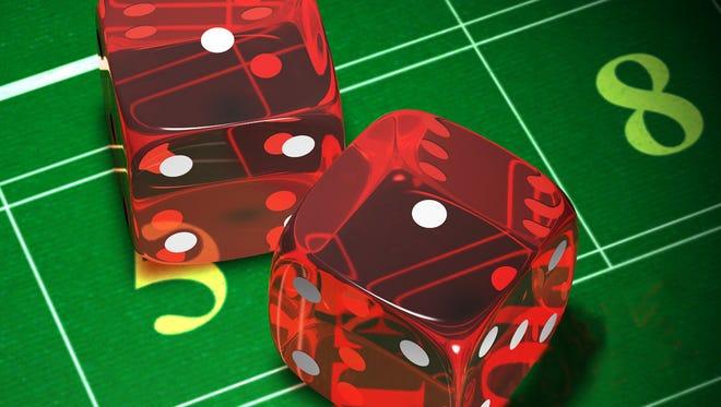 This illustration on gambling