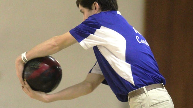 Highlands' Andy Campbell finished in fifth place in the KHSAA state bowling tournament Thursday, only one year after picking up the sport.