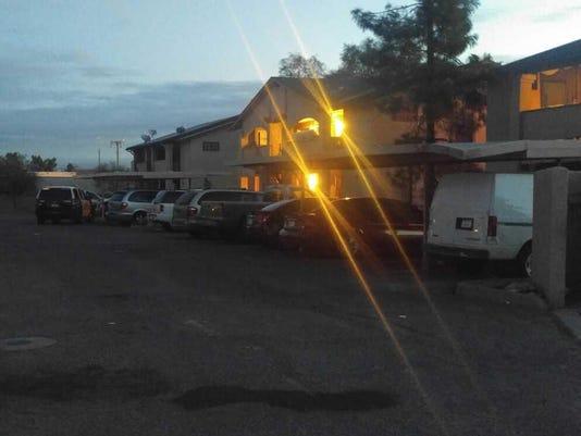Fatal stabbing outside Mesa condos