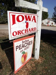 Iowa Orchard is located at 9875 Meredith Drive in Urbandale.