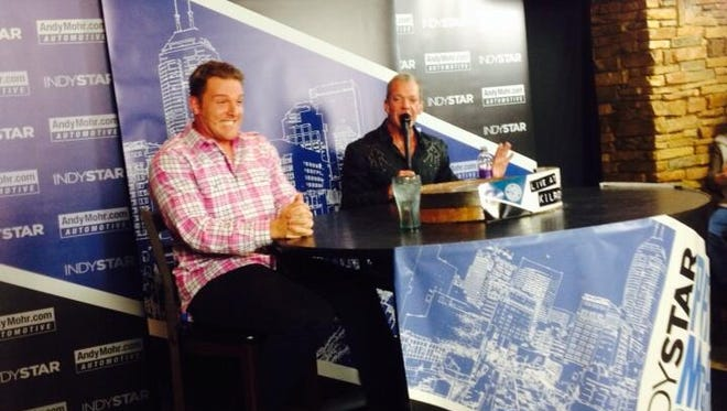 Pat McAfee reacts to Jim Irsay taking about his contract negotiations on the IndyStar Pat McAfee Show.