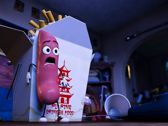 """Frank is a dope-smoking hot dog in """"Sausage Party."""""""