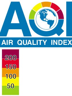 AQI index from EPA