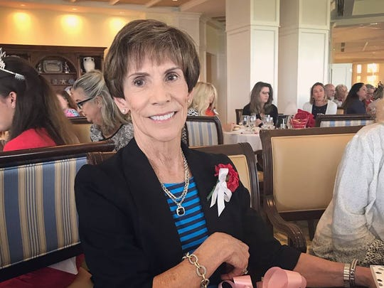 Anne Lanier was voted the Junior League of Indian River's