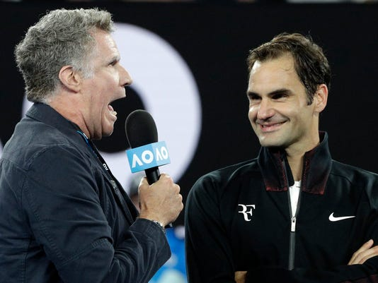 Roger Federer Will Ferrell