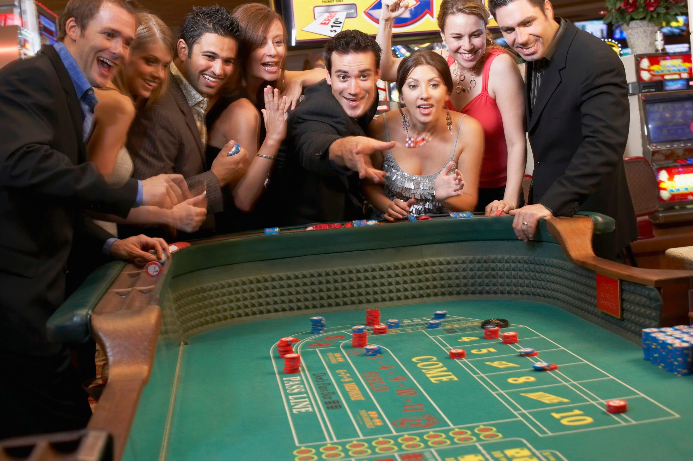 Tips winning craps table