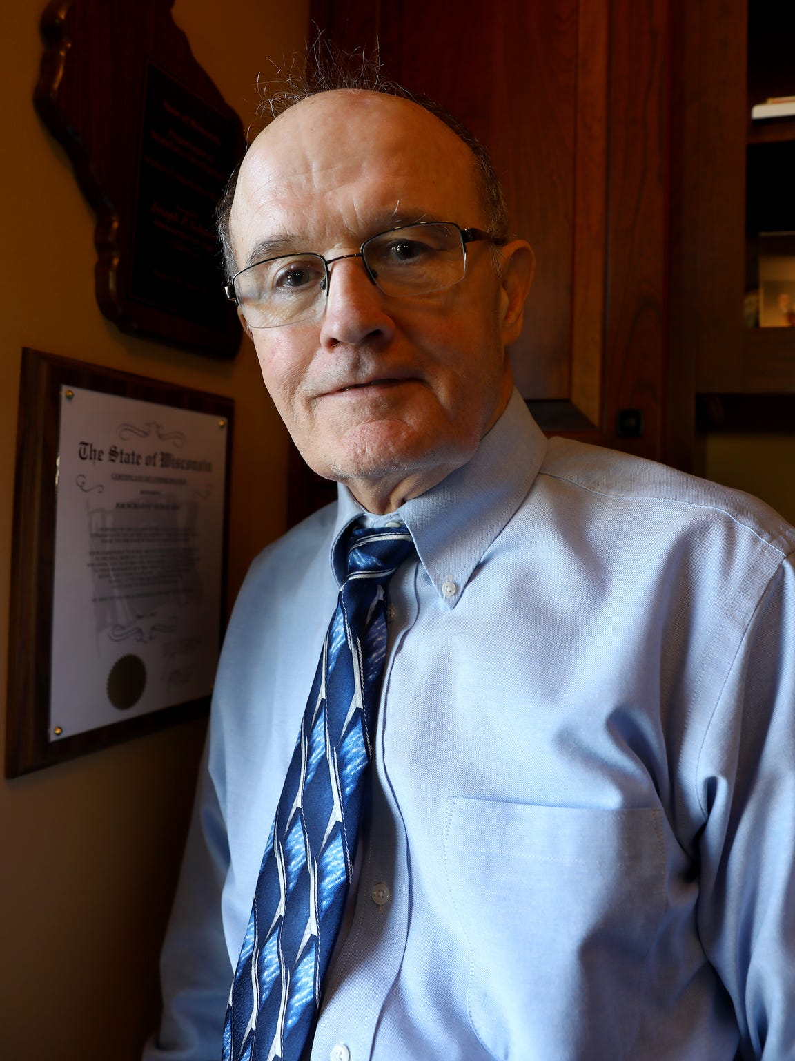 Retired administrative law judge Joe Schaeve says during his 30 years hearing worker's compensation cases in Wisconsin, the opinions of some independent medical examiners were highly predictable, often finding against injured workers.