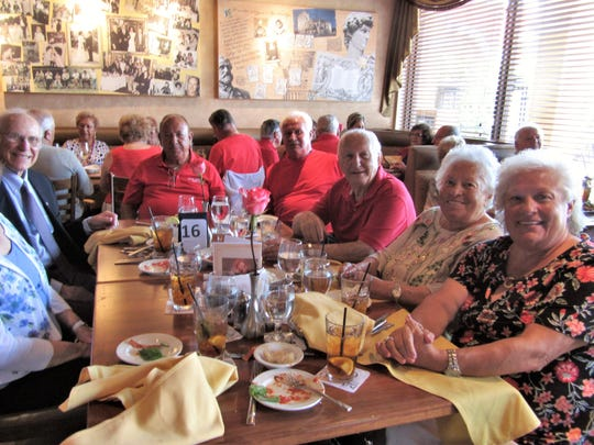 The Italian American Society of Marco Island celebrated St. Joseph's Day with a luncheon at DaVinci's on March 19, 2018.