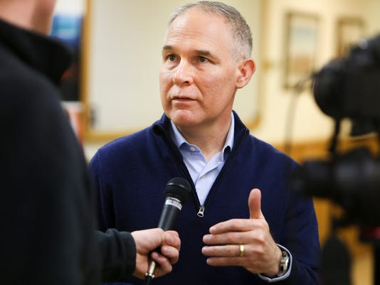 AP SCOTT PRUITT WYOMING A F USA WY