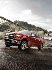 This photo provided by Ford shows the 2017 Ford F-150,